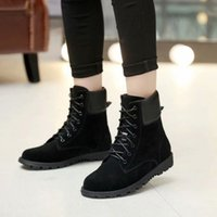 Hot Sale- Fashion New Womens Winter Martin Booties Ladies Ank...