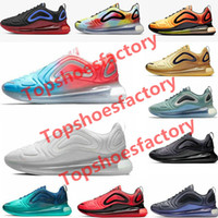 Nike air max 720 shoes airmax 720 mulheres Running Shoes Seja verdadeiro lobo cinzento Universidade Sea flash Floresta Psychic Pó Volt Racer Azul Mens Sports Sneakers