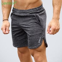 LANTECH Men Shorts Jogging Running Training Sports Crossfit ...