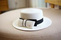 Chapeaux d'arc élégants Chapeau de vacances Beach de la plage Femme large chapeau de haute qualité Sun chapeau de chapeau de chapeaux de haute qualité 3 couleurs hats de pêcheur livraison gratuite
