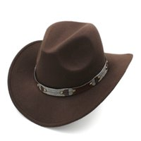 Frauen Männer Wolle Fedora Western Big Brim Roll-up Wide Brim Cowgirl Jazz Outdoor-Straßen-Party-Kappe Wollfilz Klassisches Cowgirl Strand Sombrero
