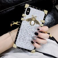 One Piece luxury phone case for iphone xs max bling bee fash...