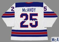 Cheap customize CHARLIE McAVOY 2016 USA Retro Top Hockey Jer...