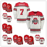 Wholesale college hockey jerseys for sale - Mens Ohio State Buckeyes Wyatt  Ege Craig Dalrymple Luke cbd0b889478