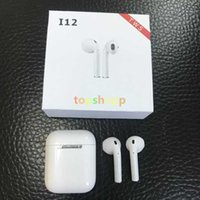 New i12 TWS earphone Bluetooth 5. 0 Wireless Touch Control Ea...