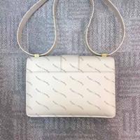 2019 Classic Fashion Bolso de la letra en relieve tridimensional de la moda Claza de oro Bolsa de diagonal con caja
