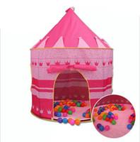 Игровая палатка Baby Ball Pool Типи Палатка для Малыша Розовый Голубой Палатка Дети Играют Дома Игрушечные Палатки Легкая Няня