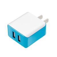 5V2.1А USB зарядное устройство для США быстро ЕС зарядное устройство 2USB универсальное зарядное адаптер завод Оптовая