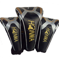 도매 골프 드라이버 헤드 커버 고품질 혼마 1 3 5 나무 골프 헤드 커버 골프 클럽 헤드 커버 클럽 헤드 용품 무료 배송