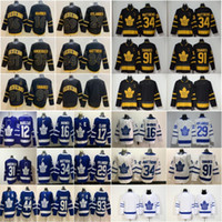 Toronto Maple Leafs 16 Mitch Marner 29 William Nylander 91 cucita hokey Jersey Kapanen Ron Hainsey Marleau nuovo San uomini Pats del 2020