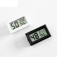 Hassas Sensör LJJP11 Tester Mini Dijital LCD Çevre Termometre Higrometre Nem Sıcaklık Ölçer Buzdolabı Sıcaklık