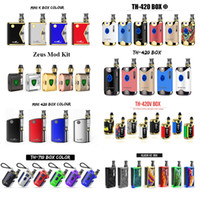 Original Kangvape Zeus TH710 TH420 V TH420 II Klasik V2 Mini 420 K Box Mod Kit elektronische Zigarette Starter Kits 0,5 ml Öl Vape Cartridges