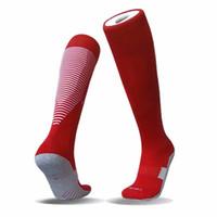 20 21 alti al ginocchio in cotone sport calcio calzini 2020 2021 bambini per adulto calzini da calcio 3ert df2en Toweloses