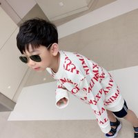 two piece suits Children sweater wear fashion casual boy Cut...