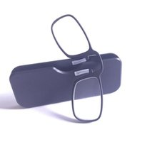 avon nez portable Porte-monnaie Lunettes de lecture avec étui 4 couleurs mini-lunettes de presbyte verre d'urgence CZ205
