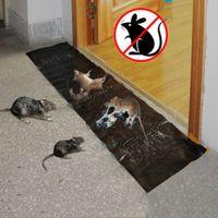120 * 28 سنتيمتر الماوس لزجة الغراء الجرذ مصيدة الفأر الغراء مجلس الفئران الماسك فخ مكافحة السامة الآفات رفض الماوس القاتل الفئران القاتل