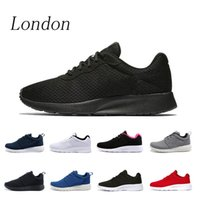 London Chaussures de course pour hommes femmes Whosale 2019 sport rouge blanc noir Triple athlétique Sneakers Tanjun Table tenis taille 36-45