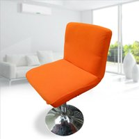 Bar Stool Chair Cover Slipcover Waterproof Elastic Stretchab...