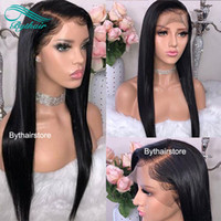 Bythair Lace Front Human Hair Wigs Brazilian Virgin Hair Pre...