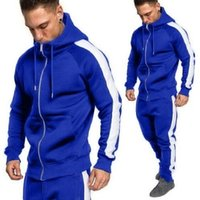 New Arrival Men Tracksuits Outwear Hoodies Zipper Sportwear ...