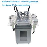 realce do peito hip elevador de sucção a vácuo Acupuntura Massagem Cupping Terapia máquina RF cavitação ultra-sônica