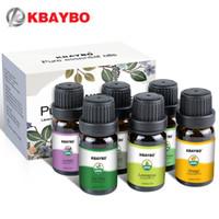 Uçucu Yağlar Aromaterapi Aroma Yağı Difüzör Nemlendirici 6 Çeşit Lavanta Kokusu Ağacı Ağacı Biberiye Limon Portakal