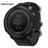 NORTH EDGE الرجال الرياضة الساعات الساعات الرقمية تشغيل عسكرية للجيش سباحة الساعات مقياس الارتفاع بارومتر بوصلة ماء CJ191213 50M