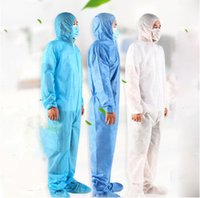One Time Disposable Protective Clothing Waterproof Oil- Resis...