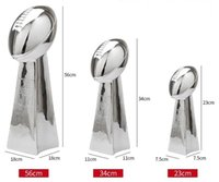 SUPER B de résine Trophy American Football League Coupe Vince L ombardi Trophy 9 '' (24cm) 13 '' (34cm) pleine grandeur 22 '' (56cm) Cadeaux Fan
