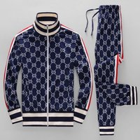 2019 Jackets Set Fashion Running Tracksuits For Men Sports S...