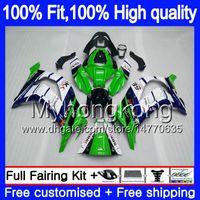Инъекции для KAWASAKI ZX1000 ZX 10 R 2011 2012 2013 2014 2015 218MY.64 ZX 10R 1000CC ZX-10R ZX10R 11 12 13 14 15 OEM зеленый синий обтекатели