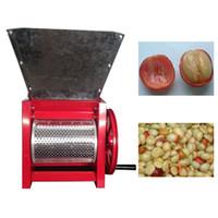 핸드 형 커피 콩 탈곡기 기계 커피 콩 펄퍼 기계 신선한 커피 콩 hulling 기계