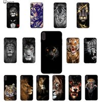 2020 leão tigre telefone iPhone para o caso do 11 pro XS MAX 8 7 6 6S Plus X 5 5S SE XR grossista