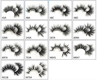 25 mm mink false eyelash new 5D lengthen mink fur luxury lif...