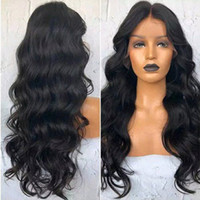 Boby Wave Pre Plucked Human Hair Wigs For Black Women 9A Bra...