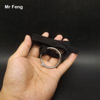 42 mm Magnetism Magic Trick Ring och Rope Hoop Escape Props Närbild Game Barnleksaker (Modellnummer H317)
