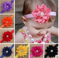 New European and American children' s head flower baby h...