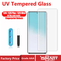 Curved UV Tempered Glass For Samsung Galaxy S20 S20Plus Ultr...