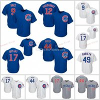 44 Anthony Rizzo Chicago jerseys Cubs 17 Kris Bryant 9 Javie...