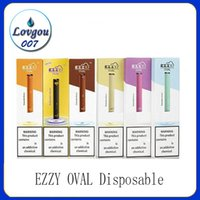 Hottest EZZY OVAL Disposable Vape Pen Kit Over 300 Puffs 280...