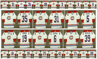 Vintage Montreal Canadiens Jersey 5 Guy Lapointe 39 SKRUDLAND 19 Larry Robinson 6 Russ Courtnall 35 Mike McPhee 31 John Kordic Hockey su misura