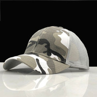 Summer New Camouflage Baseball Cap Fashion Sport Mesh Caps M...