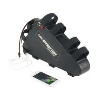 Estuche de plástico 48V 31.5Ah Triángulo de la batería eBike con USB Interruptor ON / OFF Batería de litio para la bicicleta eléctrica
