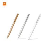 Xiaomi Mijia Penne a segno in metallo 0,5mm MI Penne PREMEC Liscio Refill in Svizzera MiKuni Japan Inchiostro Mijia Office Nero Red Blue inchiostri