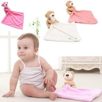 3 Colors Baby Bear Appease Towel Comforter Plush Stuffed Was...