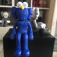KAWS 25CM KAWS figura Origina falso super fashion doll Hight regalo dell'ufficio materiale della decorazione vinile Sesame Street limitata Dolls Seduto