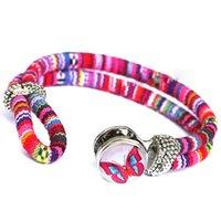 15 colori Fashion noosa braccialetto di Fascino DIY bottoni gioielli snap Ginger snap nosa pezzi bracciali braccialetto per le donne gioielli dichiarazione 160382