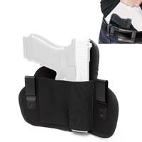 Holster de courroie dissimulé universel droit main gauche IWB Holsters Holsters de chasse Pistols Sac pour toutes les armes de poing sous-compacte compact