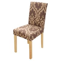 New Spandex Chair Cover Stretch Elastic Dining Seat for Banq...