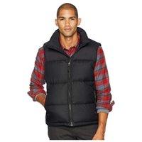 유명한 남성 다운 조끼 남성 여성 스타일리스트 겨울 자켓 코트 남성 높은 품질 캐주얼 파카 남성 다운 3 색 크기 S-XL